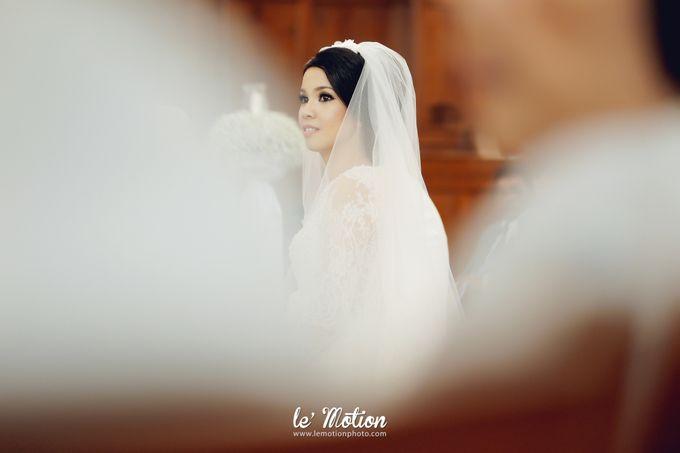 Tisya & Ferry - International Wedding by Imelda Hudiyono Bride - 023
