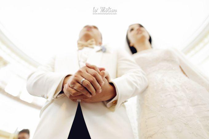 Tisya & Ferry - International Wedding by Imelda Hudiyono Bride - 017