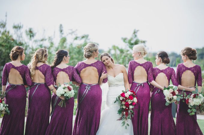 Blush and Merlot Resort wedding by Events In Bloom - 004
