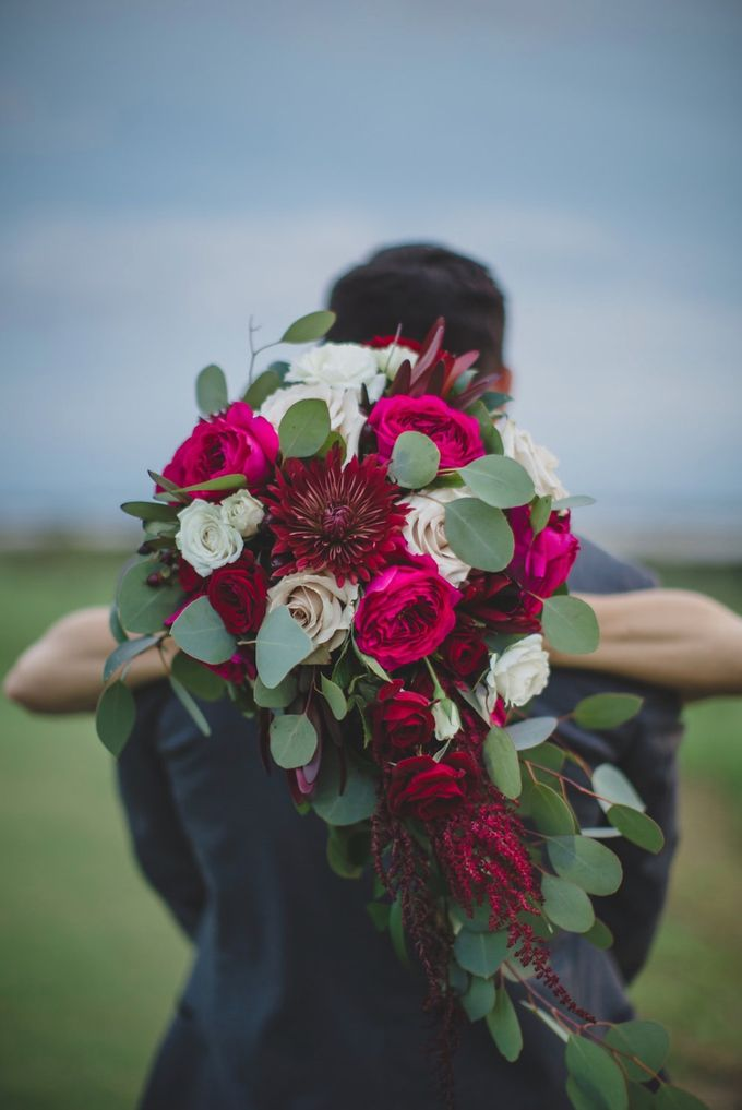 Blush and Merlot Resort wedding by Events In Bloom - 019