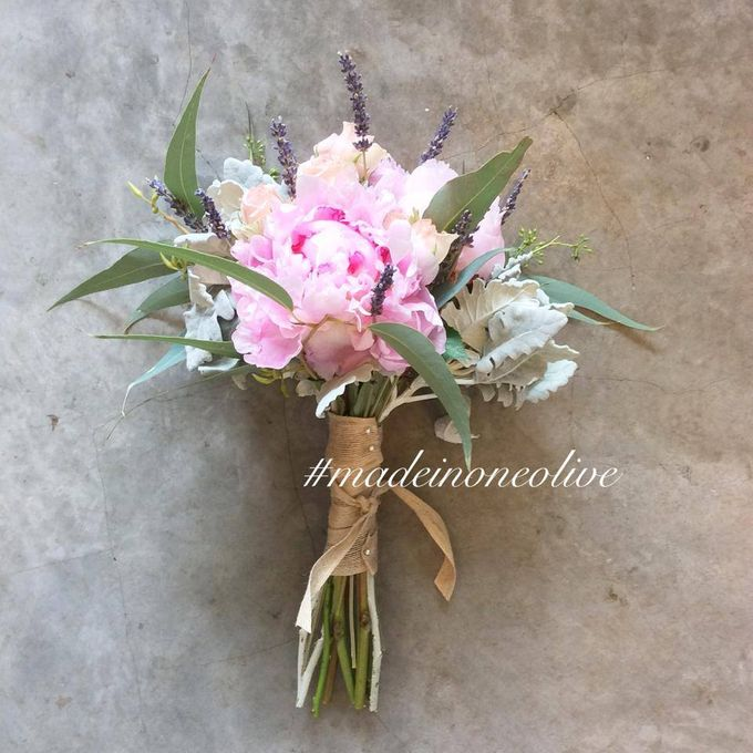Bridal Bouquets by One Olive - 005