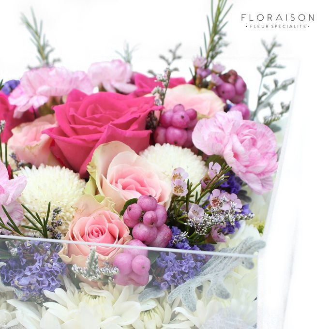 """See me Thru"" Bloom box by Floraison - 014"