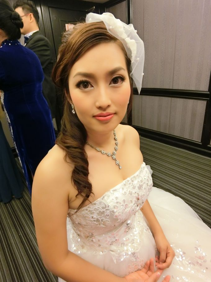 Bride Actual Day by Suz Make Up & Hairdo - 002