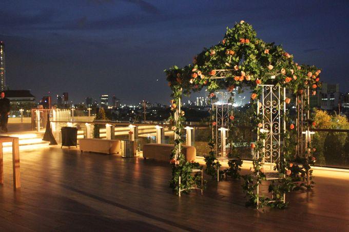 Kris & Dewi Wedding at the Residence ONFIVE by Grand Hyatt Jakarta - 005