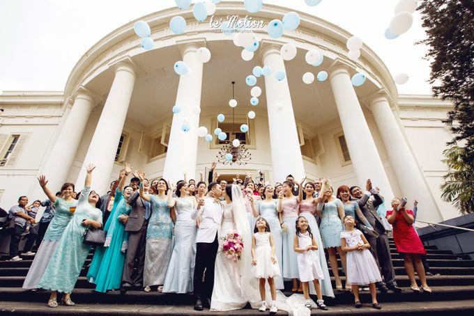 Tisya & Ferry - International Wedding by Imelda Hudiyono Bride - 027