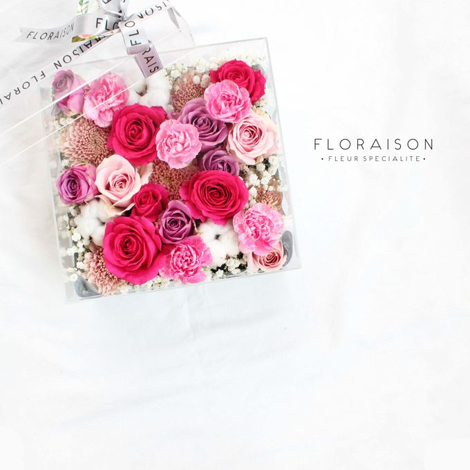 """See me Thru"" Bloom box by Floraison - 021"
