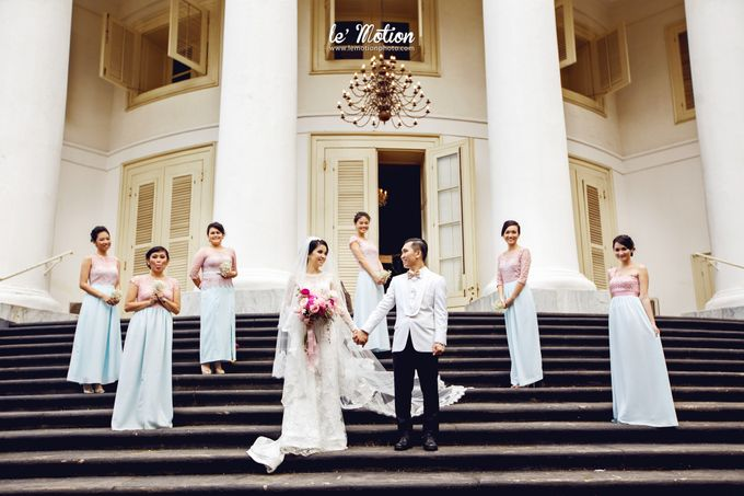 Tisya & Ferry - International Wedding by Imelda Hudiyono Bride - 029