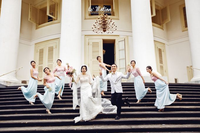Tisya & Ferry - International Wedding by Imelda Hudiyono Bride - 030