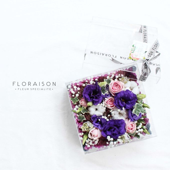 """See me Thru"" Bloom box by Floraison - 019"