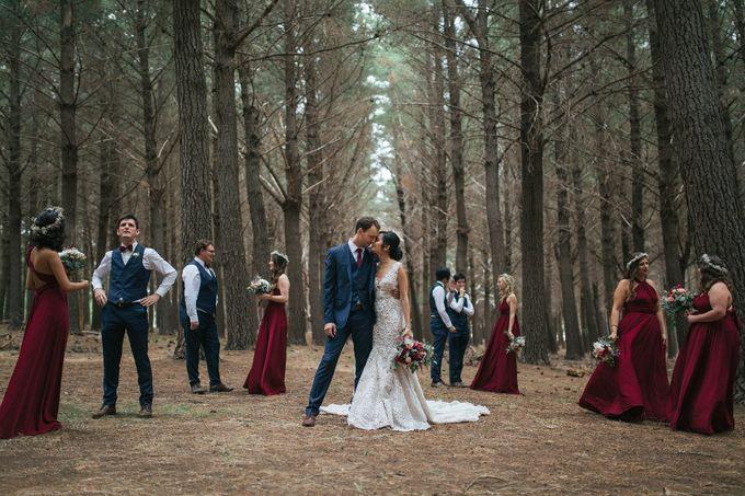 Kieran & Lorenita - Rustique by MALVA Bridesmaids - 003