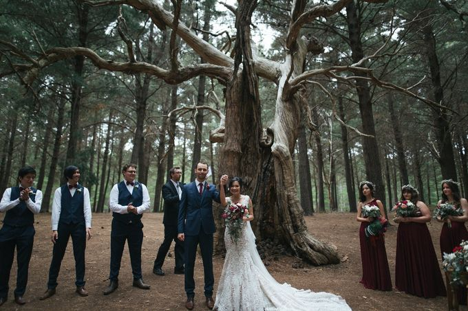 Kieran & Lorenita - Rustique by MALVA Bridesmaids - 012