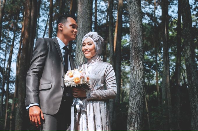 ANNISA & ANGGI PREWEDDING by Benangsari Flower Studio - 002
