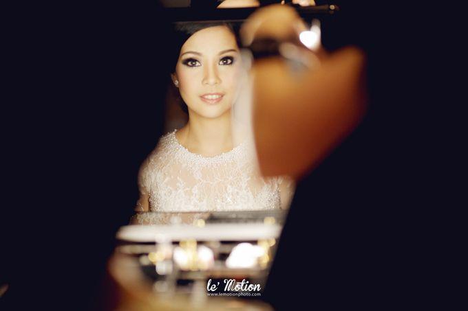 Tisya & Ferry - International Wedding by Imelda Hudiyono Bride - 007