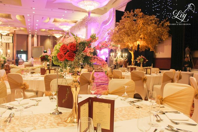 Henry & Adeline wedding by Lily Florist & Decoration - 005