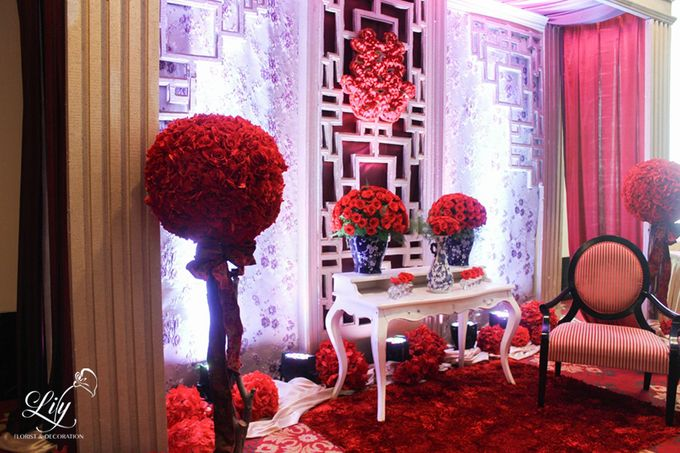 Henry & Adeline wedding by Lily Florist & Decoration - 015
