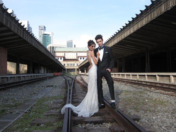 Styled Shoot at KTM Tanjong Pagar Railway Station by The Proposal - 003