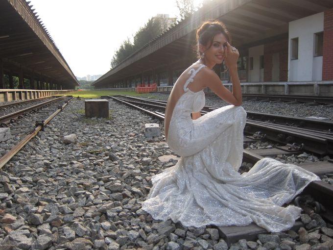 Styled Shoot at KTM Tanjong Pagar Railway Station by The Proposal - 002
