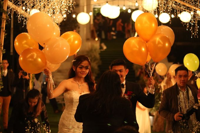 Wedding of Hendry & Novita at Gedong Putih Bandung by Sparkling Organizer - 035