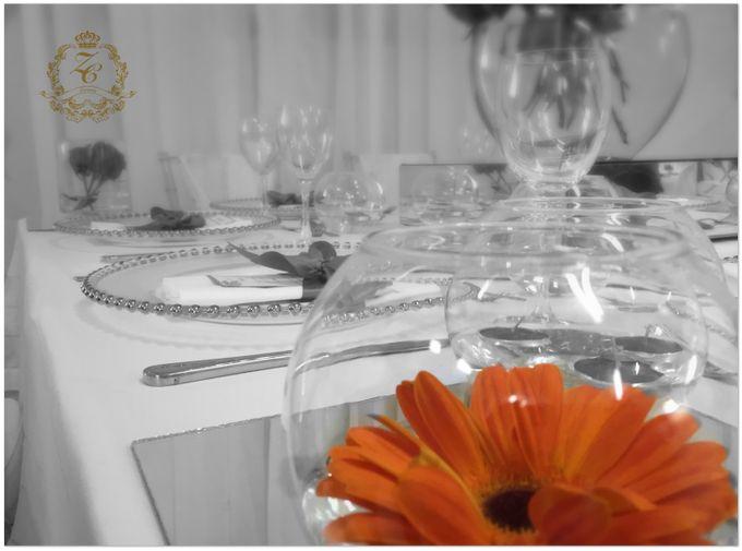 Minimalist Orange Wedding by ZC Events - 005