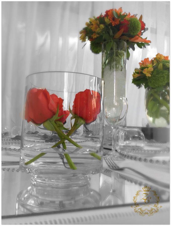 Minimalist Orange Wedding by ZC Events - 006