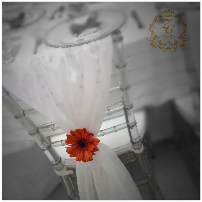 Minimalist Orange Wedding by ZC Events - 007