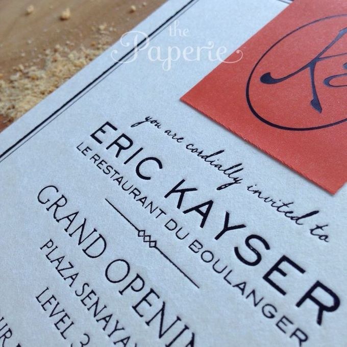 Eric Kayser Grand Opening Invitation by The Paperie - 003
