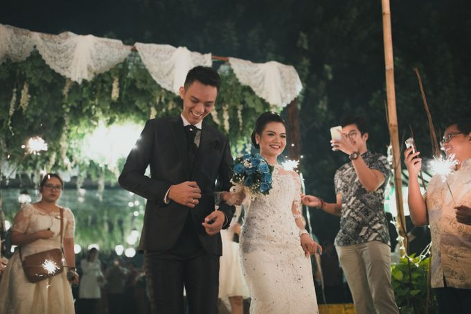 RIRIS & ARIF by Raffles Hills Cibubur - On Green Garden Venue - 004
