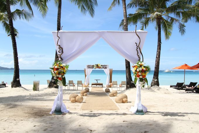 Beach Wedding at The District Boracay by The District Boracay - 002