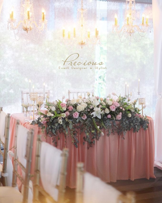 Blushing Intimate Wedding by Precious Event Design - 002