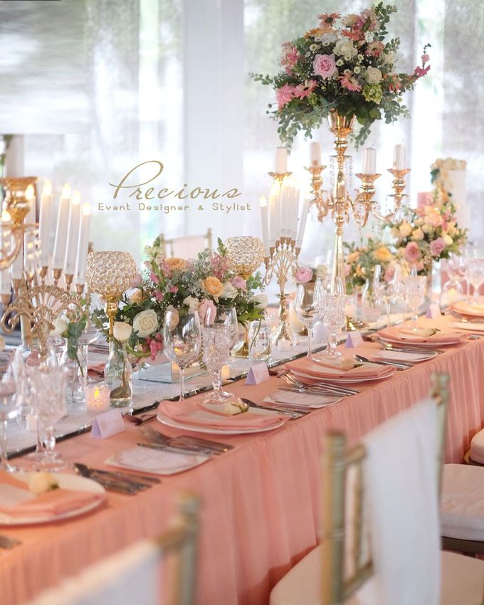 Blushing Intimate Wedding by Precious Event Design - 001