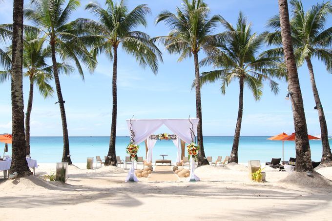 Beach Wedding at The District Boracay by The District Boracay - 003
