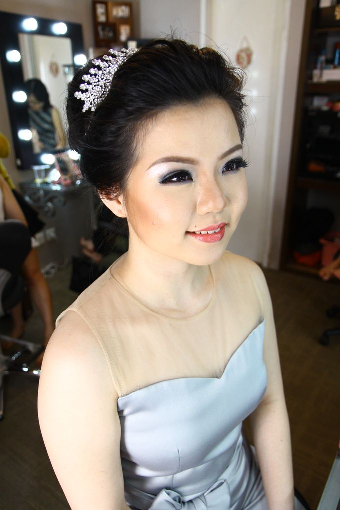 Makeup and Hairdo by Lee Cinthya Makeup Artist - 003