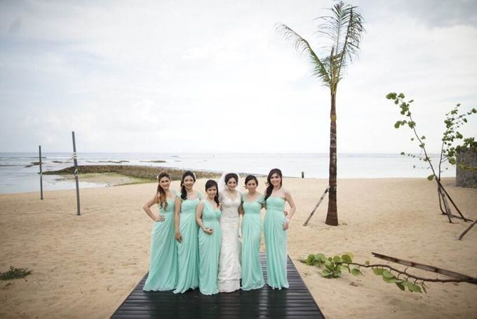 Thomas & Evy Wedding by Lademoiselle Bridesmaids - 010