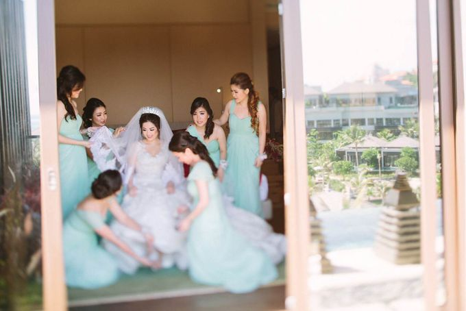 Thomas & Evy Wedding by Lademoiselle Bridesmaids - 001