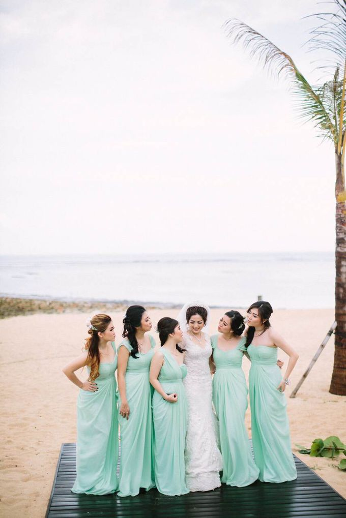 Thomas & Evy Wedding by Lademoiselle Bridesmaids - 009