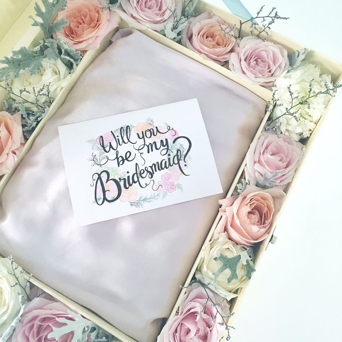 Will You Be My Bridesmaid Set by Bridesmaid & Co - 004