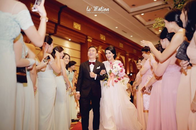 Tisya & Ferry - International Wedding by Imelda Hudiyono Bride - 038