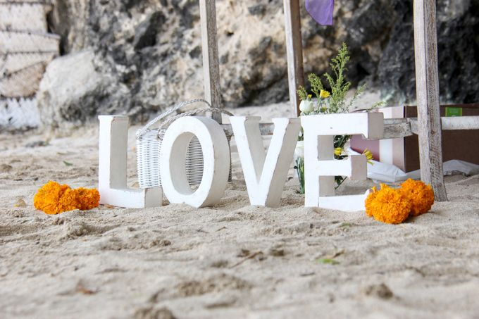 Beach Wedding by Samabe Bali Suites & Villas - 004