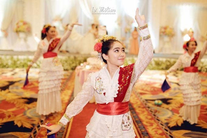 Tisya & Ferry - International Wedding by Imelda Hudiyono Bride - 040
