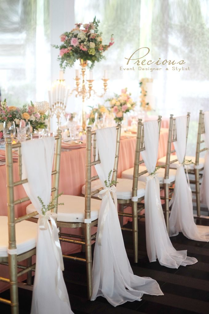 Blushing Intimate Wedding by Precious Event Design - 005
