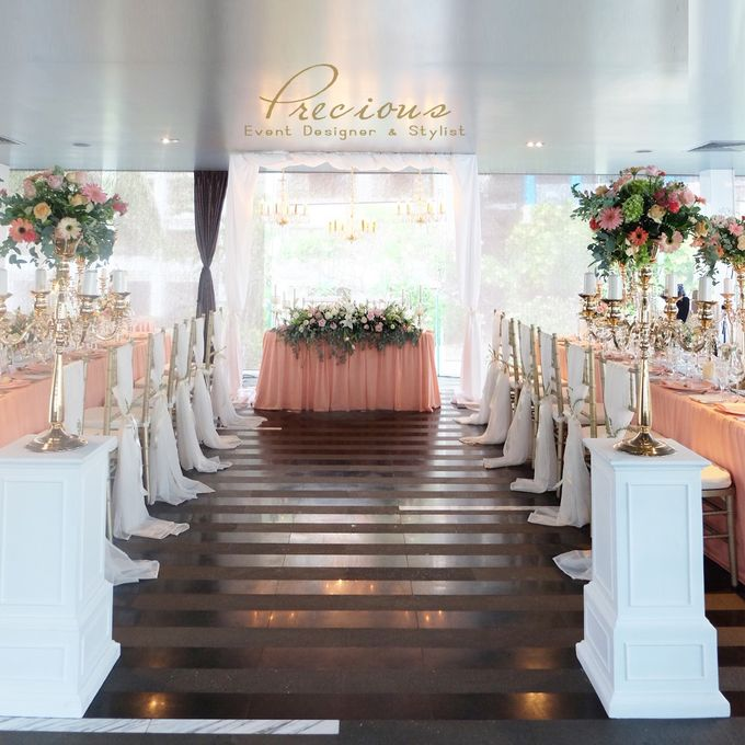 Blushing Intimate Wedding by Precious Event Design - 006