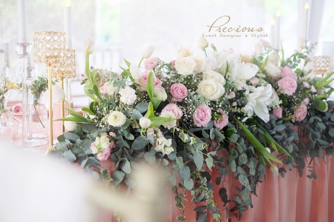Blushing Intimate Wedding by Precious Event Design - 007
