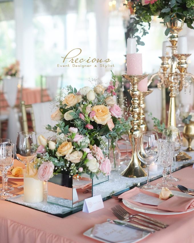 Blushing Intimate Wedding by Precious Event Design - 003