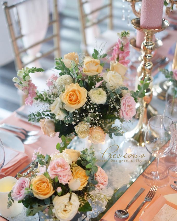 Blushing Intimate Wedding by Precious Event Design - 008