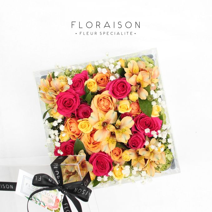 """See me Thru"" Bloom box by Floraison - 024"