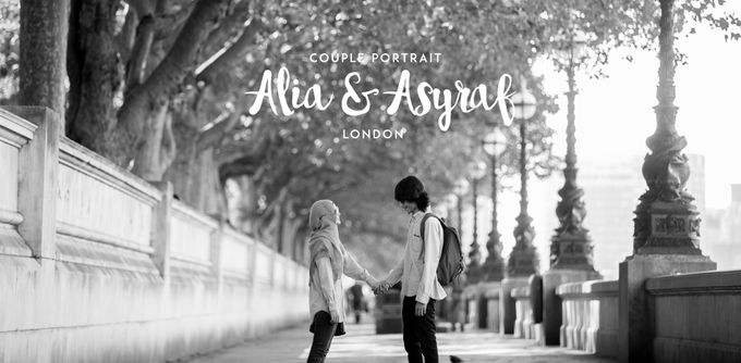 Couple Portraiture of Alia & Asyraf by The Lucid Company - 001