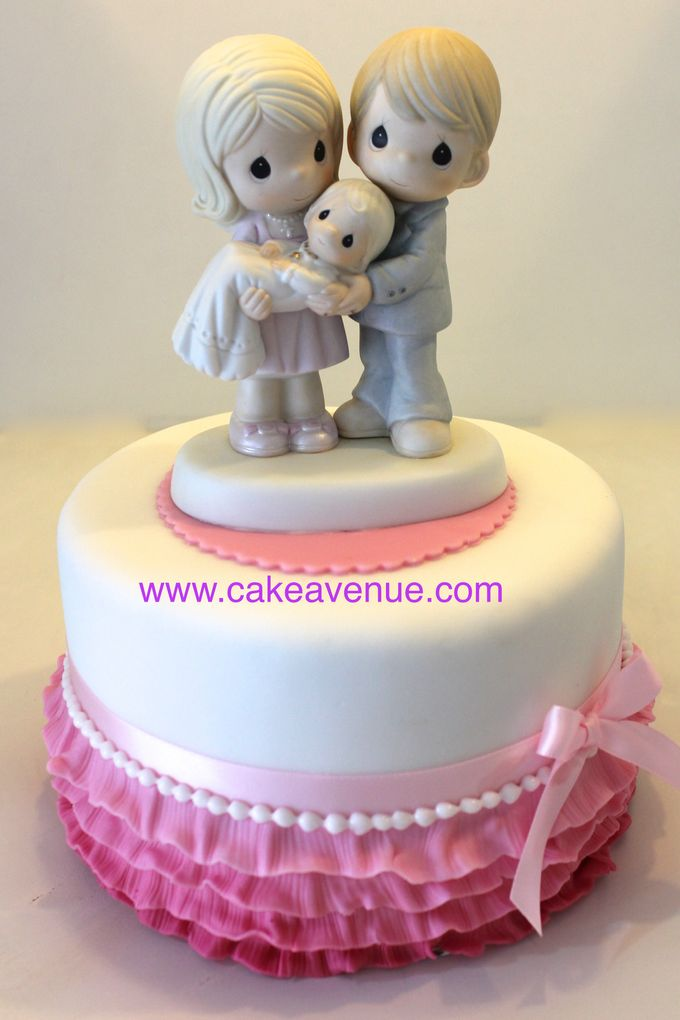 Single tier Customised Wedding Cakes by Cake Avenue - 001