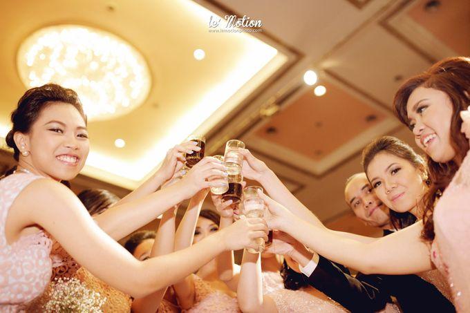 Tisya & Ferry - International Wedding by Imelda Hudiyono Bride - 041