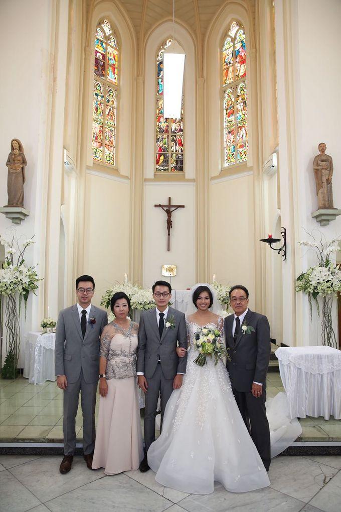 The Wedding of Eka & Naida by Imelda Hudiyono Bride - 001