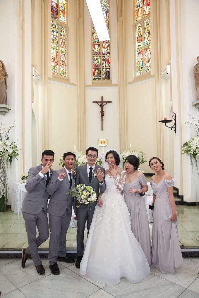 The Wedding of Eka & Naida by Imelda Hudiyono Bride - 002